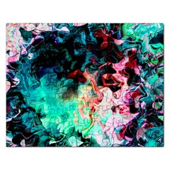 Background Art Abstract Watercolor Rectangular Jigsaw Puzzl
