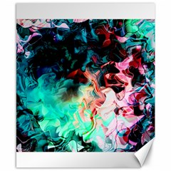 Background Art Abstract Watercolor Canvas 8  X 10  by Nexatart