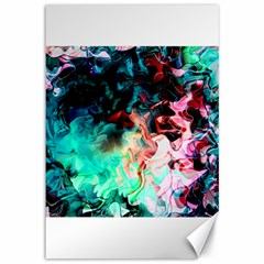 Background Art Abstract Watercolor Canvas 12  X 18