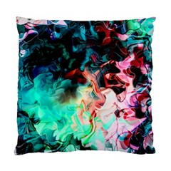 Background Art Abstract Watercolor Standard Cushion Case (one Side) by Nexatart