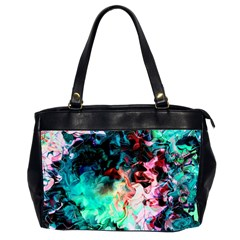 Background Art Abstract Watercolor Office Handbags (2 Sides)  by Nexatart