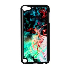 Background Art Abstract Watercolor Apple Ipod Touch 5 Case (black)