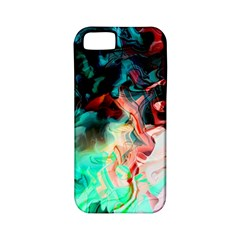 Background Art Abstract Watercolor Apple Iphone 5 Classic Hardshell Case (pc+silicone)