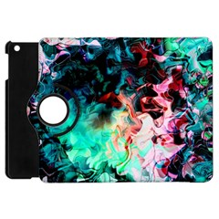 Background Art Abstract Watercolor Apple Ipad Mini Flip 360 Case by Nexatart
