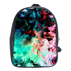 Background Art Abstract Watercolor School Bag (xl) by Nexatart