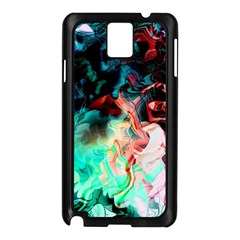 Background Art Abstract Watercolor Samsung Galaxy Note 3 N9005 Case (black) by Nexatart
