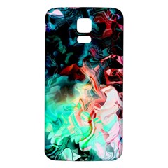 Background Art Abstract Watercolor Samsung Galaxy S5 Back Case (white) by Nexatart