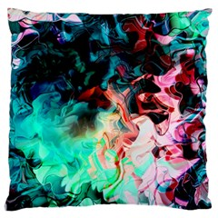 Background Art Abstract Watercolor Standard Flano Cushion Case (one Side)