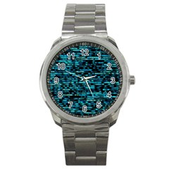 Wall Metal Steel Reflexions Sport Metal Watch