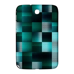 Background Squares Metal Green Samsung Galaxy Note 8 0 N5100 Hardshell Case