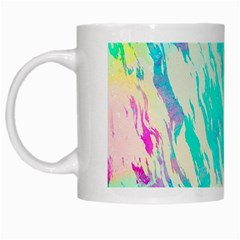 Blue Background Art Abstract Watercolor White Mugs by Nexatart