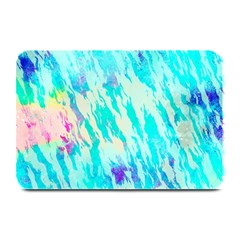Blue Background Art Abstract Watercolor Plate Mats