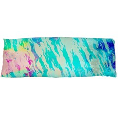 Blue Background Art Abstract Watercolor Body Pillow Case (dakimakura)