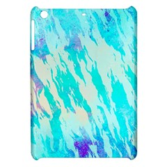 Blue Background Art Abstract Watercolor Apple Ipad Mini Hardshell Case