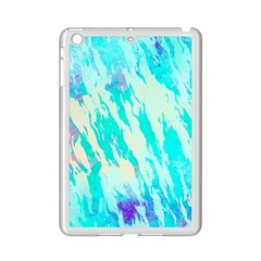 Blue Background Art Abstract Watercolor Ipad Mini 2 Enamel Coated Cases by Nexatart