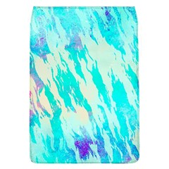 Blue Background Art Abstract Watercolor Flap Covers (l)