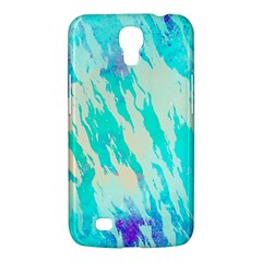 Blue Background Art Abstract Watercolor Samsung Galaxy Mega 6 3  I9200 Hardshell Case by Nexatart