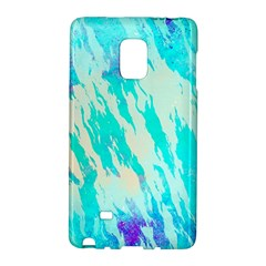 Blue Background Art Abstract Watercolor Galaxy Note Edge