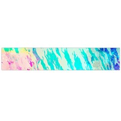 Blue Background Art Abstract Watercolor Large Flano Scarf