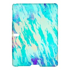 Blue Background Art Abstract Watercolor Samsung Galaxy Tab S (10 5 ) Hardshell Case  by Nexatart