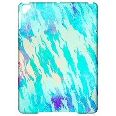 Blue Background Art Abstract Watercolor Apple Ipad Pro 9 7   Hardshell Case by Nexatart
