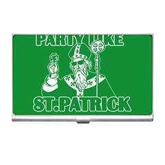 St  Patricks Day  Business Card Holders by Valentinaart