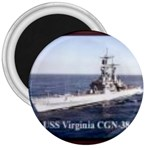 USS Virginia Pic 3  Magnet