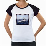 USS Virginia Pic Women s Cap Sleeve T
