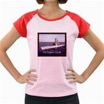USS Virginia Pic Women s Cap Sleeve T-Shirt