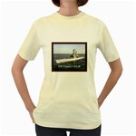 USS Virginia Pic Women s Yellow T-Shirt