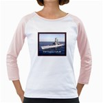USS Virginia Pic Girly Raglan