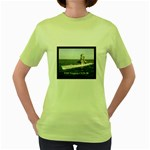 USS Virginia Pic Women s Green T-Shirt