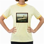 USS Virginia Pic Women s Fitted Ringer T-Shirt