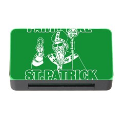 St  Patricks Day  Memory Card Reader With Cf by Valentinaart