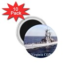 USS Virginia Pic 1.75  Magnet (10 pack)