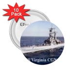 USS Virginia Pic 2.25  Button (10 pack)