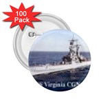 USS Virginia Pic 2.25  Button (100 pack)