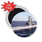 USS Virginia Pic 2.25  Magnet (100 pack)
