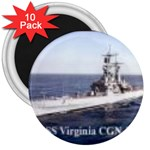 USS Virginia Pic 3  Magnet (10 pack)
