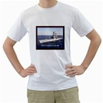 USS Virginia Pic White T-Shirt