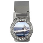 USS Virginia Pic Money Clip (CZ)
