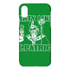 St  Patricks Day  Apple Iphone X Hardshell Case by Valentinaart
