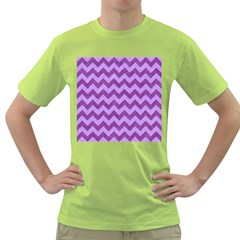 Background Fabric Violet Green T Shirt