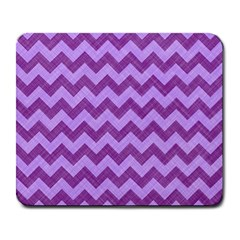 Background Fabric Violet Large Mousepads