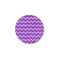 Background Fabric Violet Golf Ball Marker (10 Pack)