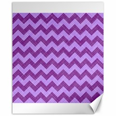 Background Fabric Violet Canvas 16  X 20
