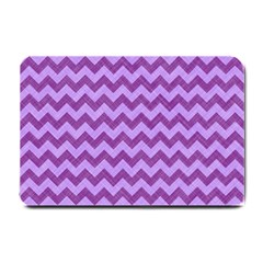 Background Fabric Violet Small Doormat  by Nexatart