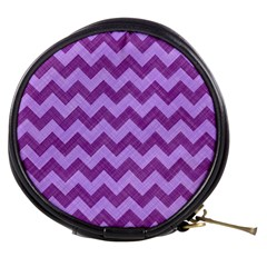 Background Fabric Violet Mini Makeup Bags by Nexatart