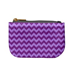 Background Fabric Violet Mini Coin Purses
