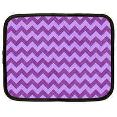 Background Fabric Violet Netbook Case (xl)